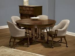 fine furniture design round extending dining table