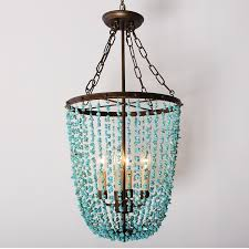 25 ideas of turquoise gem chandelier lamps chandelier ideas
