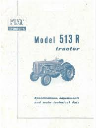 fiat 513r workshop manual