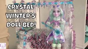 Make A Bed How To Make A Bed For Crystal Winter Ever After High Youtube
