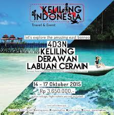 Cermin Rp promo derawan labuan cermin 14 17 oktober 2015 keliling indonesia