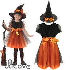 Halloween Costumes Ebay Halloween Girls Witch Toddler Baby Kids Fancy Dress Hat