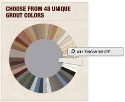 what color grout should i choose for my tile the home depot