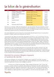 bureau commun des assurances collectives bilan de la généralisation de la complémentaire santé 2017