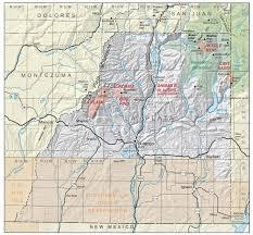 La County Map La Plata County Colorado Geological Survey