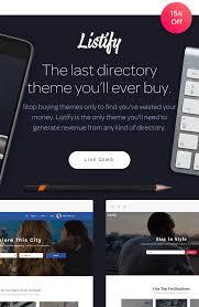 listify wordpress directory theme by astoundify themeforest