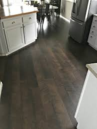 Gray Laminate Flooring Pergo Flooring Our Kitchen Reveal Snazzy Little Things