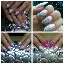 manicure pedicure shellac gel nails extension acrylic gel in