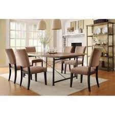 old world style dining table with trestle base design 1
