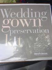 Wedding Dress Storage Wedding Gown Preservation Kit Ebay