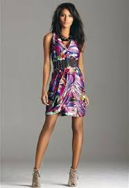 short marble summer cocktail dress 2010 clothes fashion