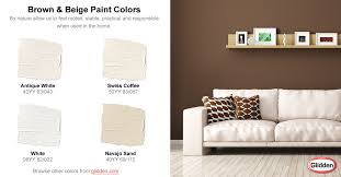 brown u0026 beige paint colors