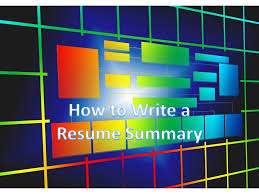 summary exle for resume how to write a resume summary or resume summary exle resume