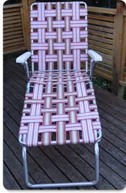 Recover Patio Chairs Vintage Fixing Re Webbing A Patio Chair