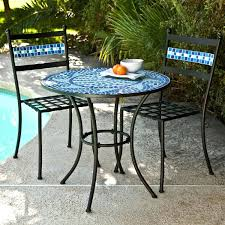 Mexican Patio Furniture Sets Tiles Tile Bistro Table Mosaic Tile Bistro Table And Chairs