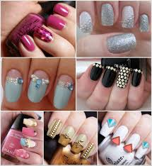 33 stunning nail art ideas with crystals pearls and studs