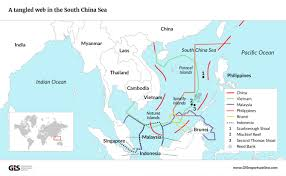 South China Sea Map South China Sea Geopolitical Intelligence Services