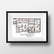 dunder mifflin floor plan amazon com the office us tv show poster the office us tv show