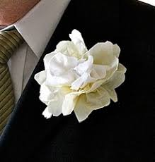 boutonniere flower napkin wedding flower boutonniere favecrafts