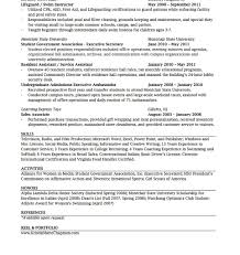 Entry Level Cosmetologist Resume Examples by Swim Instructor Resume Resume Cv Cover Letter