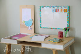 customize your own desk ana white com