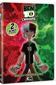 ben 10 omniverse duel duplicates dvd review otaku dome