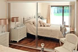 Sliding Mirror Closet Doors Mirrored Sliding Doors Sliding Door Wardrobes Beautiful White