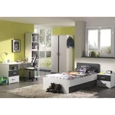 chambre complete garcon prix chambre complète enfant 6p josh blanc gris pas