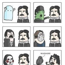 Edgar Allen Poe Meme - edgar allan poe by david43 meme center