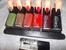 ev curl gurl swatch review new chrome nail polish