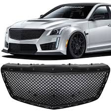 cadillac cts bumper 14 2014 15 2015 cadillac cts 4dr b style abs black front bumper
