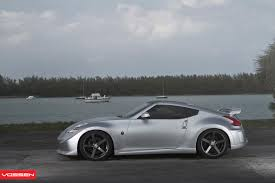 nissan 370z custom rims vossen wheels nissan 370z vossen cv3r