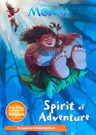 disney moana spirit of adventure color it parragon books ltd