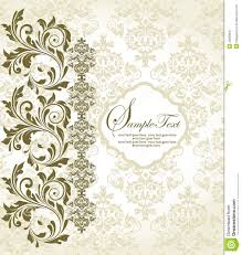 Background Invitation Card Floral Background Invitation Card Royalty Free Stock Photo Image