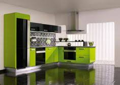Trendy Orange Lacquered Kitchen Cabinets With Upper Cabinets And - Orange kitchen cabinets