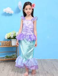 children baby clothes little mermaid fancy kids girls mermaid
