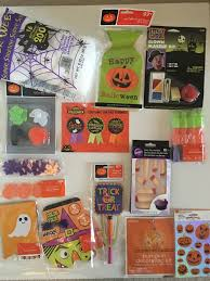 lot of halloween party decorations favors treat bags prizes