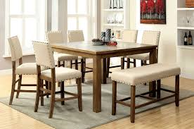 Dining Room Chairs And Benches Dining Room Cheap Bar Height Table And Chairs High With Bench