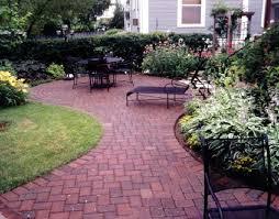 beautiful simple brick patio designs l for design decorating