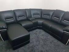 Corner Recliner Leather Sofa Recliner Corner Sofa Ebay