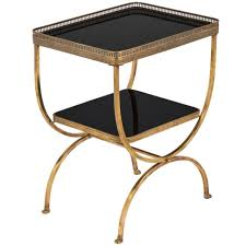 coffee table amazing glass top coffee table black and brass