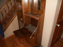 Antique Desk Secretary by Secretary Desk Curio Cabinet For Sale Antiques Com Classifieds