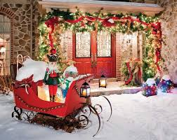 Christmas Porch Decorations Pinterest by 25 Best Christmas Front Porches Ideas On Pinterest Christmas