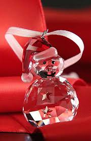 Swarovski Christmas Decorations 2015 by Swarovski Swarovski Christmas Ornament Rocking Snowman 5189475