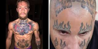 mma fighters with the dumbest tattoos