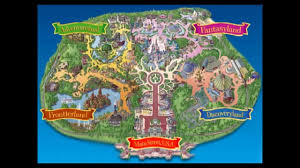 Usa Interactive Map by Disneyland Park Interactive Map Parc Disneyland Plan Interactif