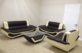 Brown Faux Leather Sofa Furniture Home Fashion Seater White Faux Leather Sofa Loldev