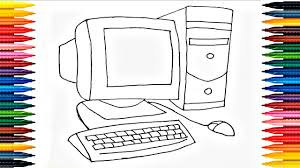 colours for kids desktop coloring pages how to color computer