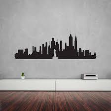 cheap home decor nyc wall art design ideas original skyline new york wall art