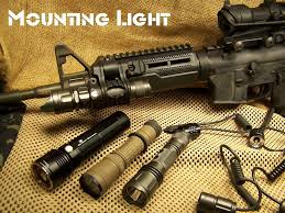hunting lights for ar 15 light mounting options ar15 m4 youtube